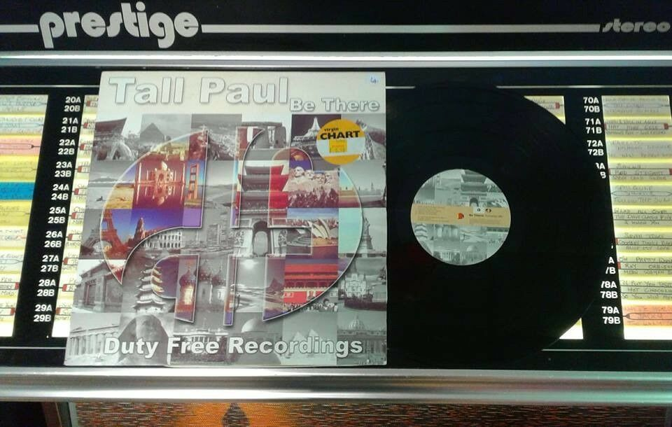 Tall Paul ‎– Be There, VG, 12 inch single, released ‎in 1999, Electronic Dance Rave