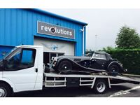 Recovery transport service Edinburgh Glasgow Perth Fife car collection and delivery