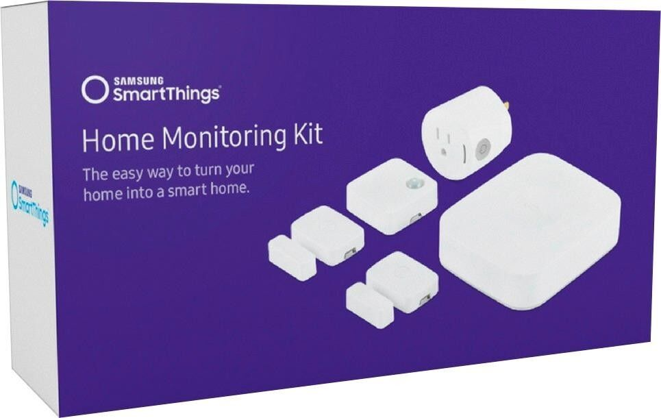 Samsung - SmartThings Home Monitoring Kit - White