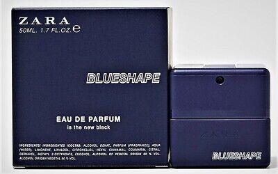 ZARA BLUESHAPE is the New Black, EDP 50ml/1.7oz Discontinued, HTF. BNIB SEALED