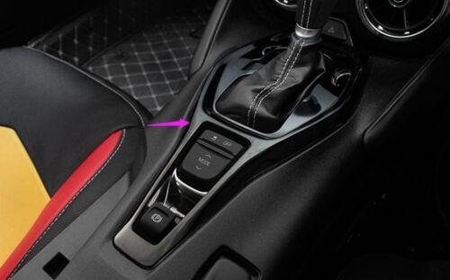 Red Interior Shift Lever Wiper Rod Cover Trim for Chevrolet Camaro 2017