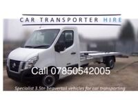 RECOVERY TRUCK HIRE/TRAILER HIRE/TRANSPORTER-SELF DRIVE ONLY £105 PER DAY 250 MILE INC/INSURANCE
