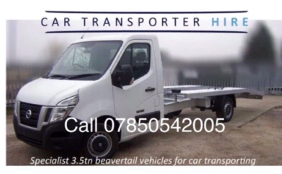 2d4aa6850b CAR TRANSPORTER HIRE TRAILER HIRE RECOVERY TRUCK SELF DRIVE ONLY £105 PER  DAY 250 MILE INC INSURANCE