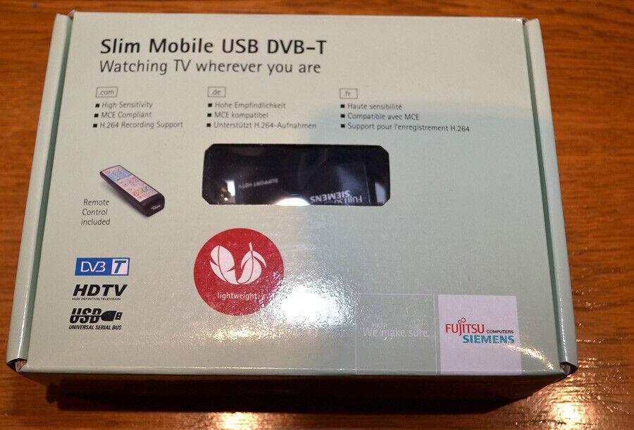Fujitsu DVB-T USB Adapter TV-Stick nicht DVB-T2 PVR Funktion auch für SimpliTV