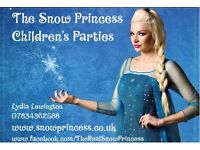 The Snow Princess children's parties! Based in Berkshire.
