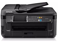 Printer Epson wf 7610 more ink cartridges included