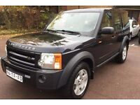 LHD LEFT HAND DRIVE LAND ROVER DISCOVERY 3 TDV6 AUTOMATIC 2006 4X4 AWD SAT NAV AC VERY CLEAN JEEP