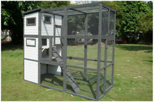 Worth $849 Hamilton Outdoor Cat Enclosure, NEVER USED due 2 house move