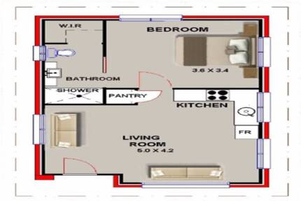 Mouse over image to zoom Granny-Flat-Kit-Home-Plan-47-1-Bedrooms
