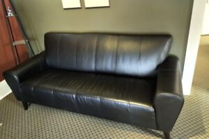 Leather sofa from eq3