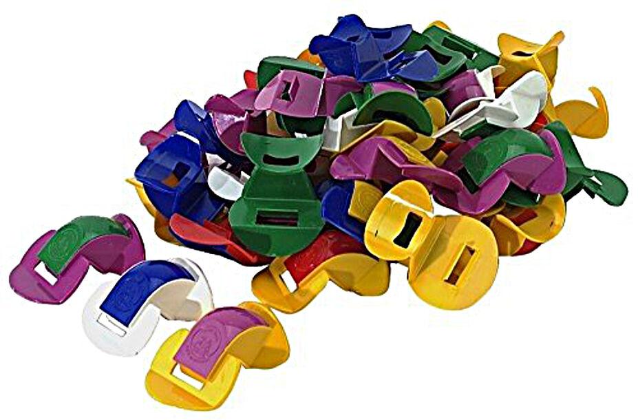 Stölzel Nasenflöte Flöte Kunststoff 750530 verschiedene Farben 5er Set