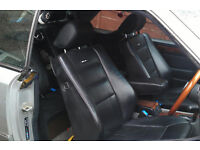 Mercedes w124 e220 coupe 2 door black leather trim For Sale (1993/1996)