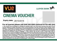 Cinema Tickets (6 units) Vue Cinema