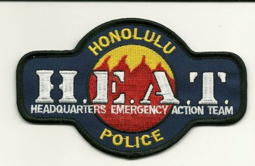 Honolulu Police HEAT SWAT SRT State Hawaii