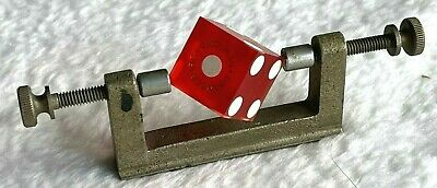 DICE BALANCING CALIPER CASINO GAMBLING CRAPS CHEATING 21 POKER ROULETTE