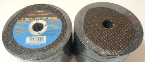 "CUT OFF WHEEL DISC 50 PC. 4"" INCH DIA. X 1/16"" THICK  X 5/8"" ARBOR, 4""dia."