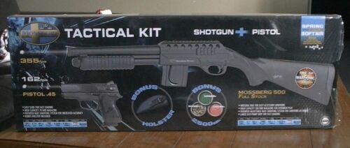 Mossberg M 500 Tactical Kit Airsoft Shotgun + Pistol