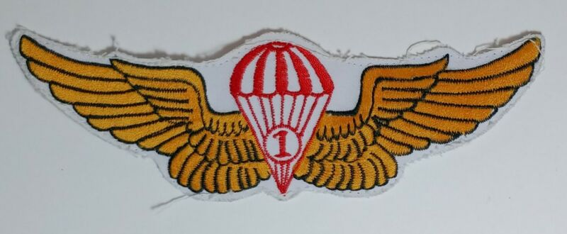 Military Police Patch Obselet Canadian or Us Army badge Wing parachute Insignia