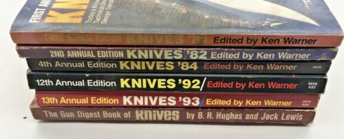 Knives 81, 82, 84, 92, 93, (6 Books Available)
