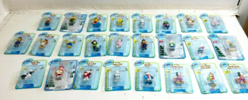 WEBKINZ BY GANZ SERIES 1 ORNAMENT FIGURINES COMPLETE SET OF ALL 25 PIECESS LOT