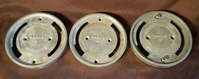 "3 Angus 4"" Mount Bracket Plates"