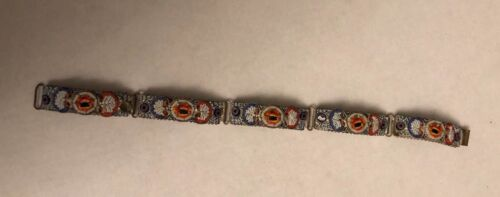 Antique Micro Mosaic Bracelet From Italy