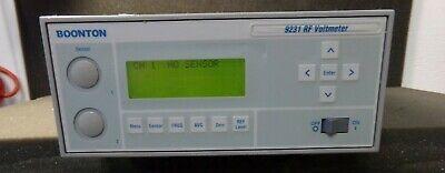Boonton 9231 Rf Voltmeter Model 9231-01 No Probes