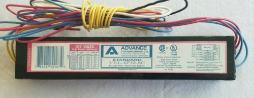 NEW Advance VEL-4P32-SC Ballast for T8 Fluorescent Lamps Bulbs