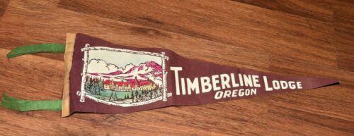 Vintage Oregon STATE Felt Pennant TIMBERLINE LODGE 1940