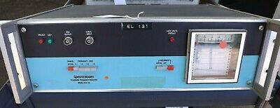Working Spectracom Standard Frequency Receiver Model 8161-16