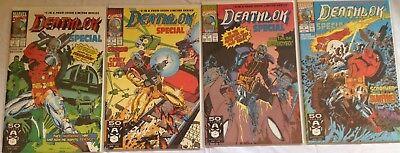 Deathlok Special Complete Series #1-4, Marvel 1991 NM