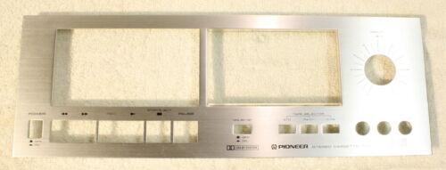 PIONEER CT-F500 Faceplate-Vintage Cassette Deck