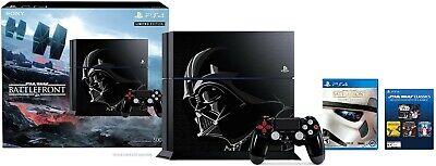 PS4 Playstation 4 Star Wars Battlefront Limited Edition Darth Vader System