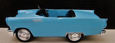 Thunderbird Tbird T Bird Pedal Car A Ford Vintage 1950s Midget Metal Model