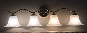 Four light wall fixture