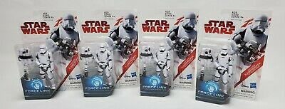Star Wars Last Jedi First Order Flametrooper Force Link Action Figure 4-Pack