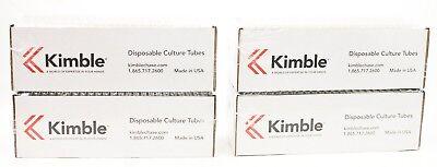 Kimble 73500-16125 N-51a Borosilicate Glass Culturetest Tube Case Of 1000 O2
