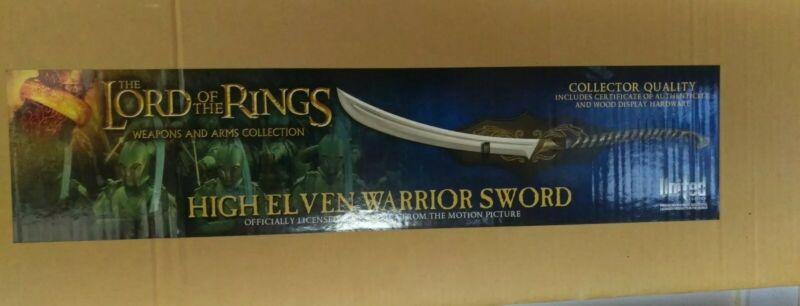 United Cutlery High Elven Warrior Sword UC1373 LOTR