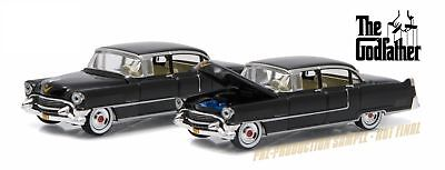 Greenlight 1:64 Hollywood 14 1955 Cadillac Fleetwood Series 60 Special Godfather ()