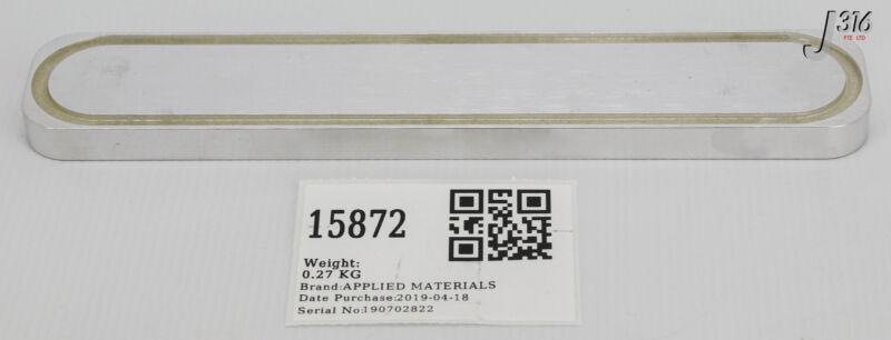 15872 APPLIED MATERIALS SEAL BONDED SLIT VALVE 8.628X1.378 CHEM 3700-02721