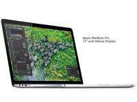 """MacBook Pro 15"""" Retina Display i7, 16GB, 256GB SSD Ex - Display"""