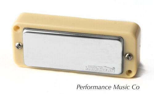 Wilkinson WMHR AlNiCo V  Mini-Humbucker w/Screws For P90 Cream