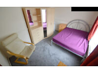 Available now. ALL BILLS INCLUDED! Newly carpeted Furnished Double Hatfield Room to rent /let/share