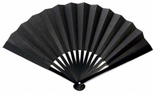 Samurai Weapon Tessen Japanese Iron Fan Black 24Cm Japan