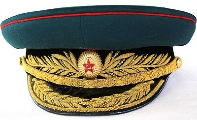 SOVIET GENERAL PARADE CAP - 1950th ORIGINAL EXTREMELY RARE