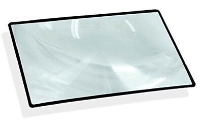 5 x 7 Inch Magnifier with Black Frame - 3X Magnification Fresnel Lens  for sale  Shipping to India