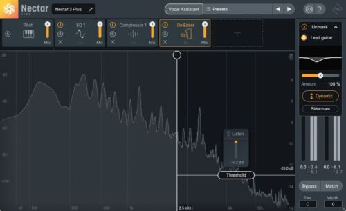 iZotope Nectar 3 Plus, Crossgrade From Any Paid iZotope Product.