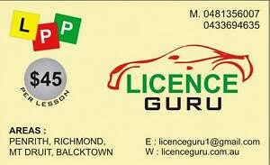 LICENCE GURU Driving School Blacktown Blacktown Area Preview