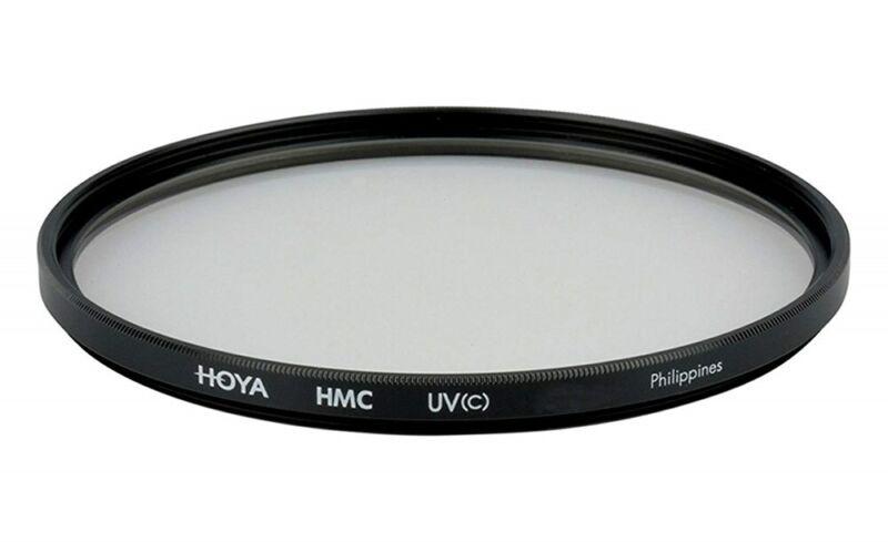 Hoya 49mm Ultraviolet UV C Haze Multi-Coated Filter Slim Frame Glass BRAND NEW