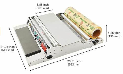 """VTH-500, 20 Inch/500 mm Hand Wrapping Machine Film Wrapper (Large Tray)""""NEW"""""""